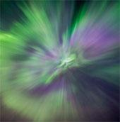 Ngôi sao nổ tung trên bầu trời Canada
