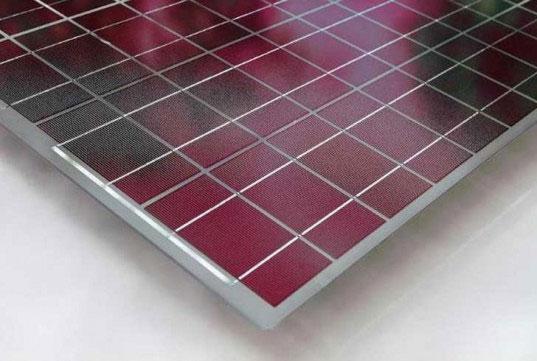 Công nghệ mới cho phép pin mặt trời có nhiều màu sắc hơn