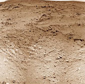 Tò Mò lăn bánh đến núi Sharp trên sao Hỏa