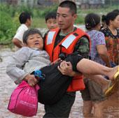 Trung Quốc: Gần 100 người chết và mất tích vì mưa lũ