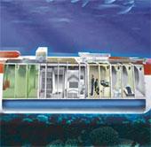 Trung Quốc lần đầu tiên xây phòng thí nghiệm dưới biển
