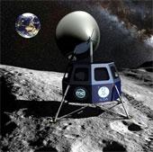 Đưa kính thiên văn lên mặt trăng