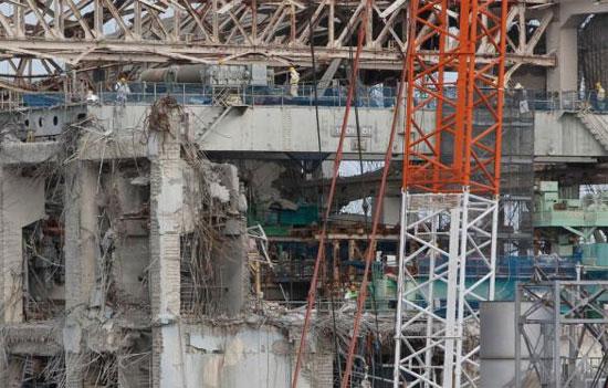 Lại phát hiện hơi nước tại nhà máy điện Fukushima