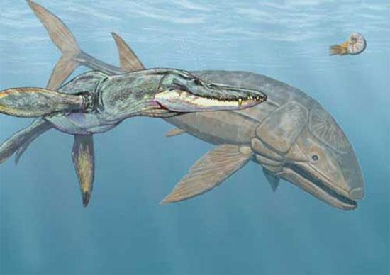 Cá khổng lồ thời khủng long
