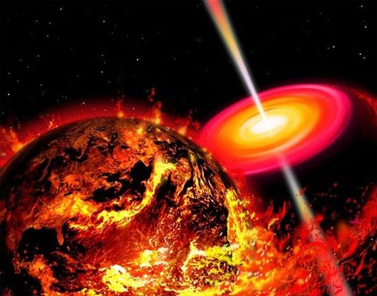 """Khi gặp phải hố đen, Trái đất sẽ có khoảng 15 phút """"nói lời từ biệt"""" trước khi vĩnh viễn biến mất."""