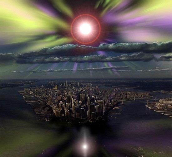 """Trái đất sẽ bị """"quay chín"""" bởi năng lượng của một chùm tia Gamma."""