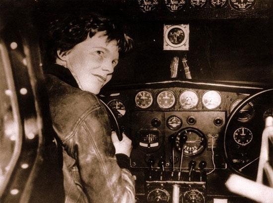 Bà đã mất tích khi đang bay ở trung tâm Thái Bình Dương, gần đảo Howland.