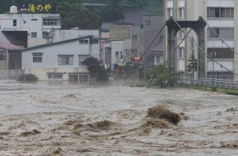 Động đất mạnh rung chuyển Fukushima, Nhật