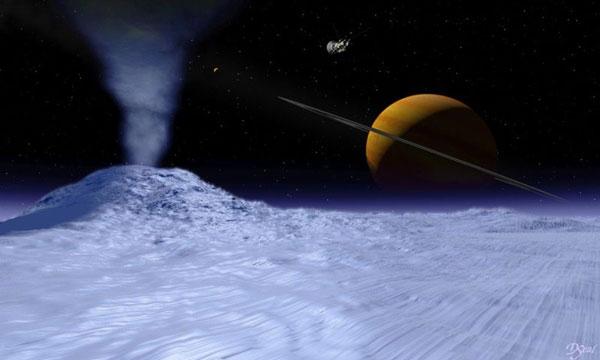 Đã tìm ra nguồn mưa trên sao Thổ