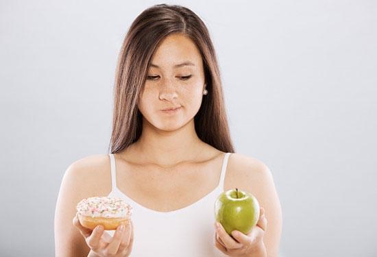 Não teo vì ăn kiêng