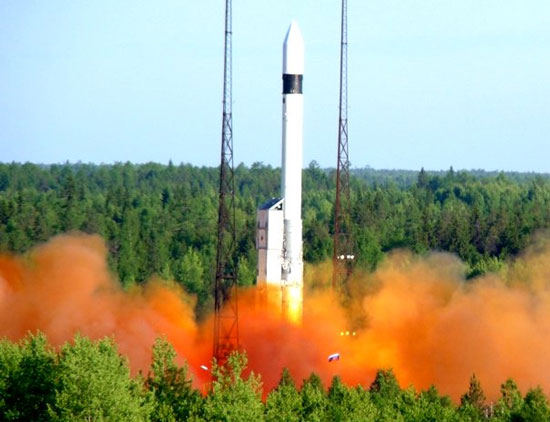 Nga tiếp tục phóng tên lửa đẩy Rokot