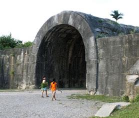 Phát hiện 1 công trường đá cổ xây Thành nhà Hồ