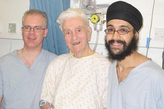 Phẫu thuật tim ở tuổi 106