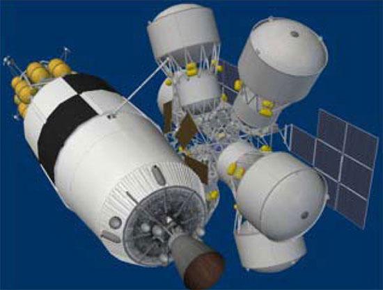 NASA muốn xây các trạm nhiên liệu trong không gian
