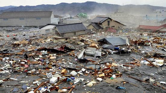 Tác động của trận sóng thần ngày 11/3 tại Nhật Bản vươn tới tận Nam Cực.