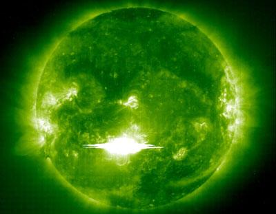 Những lớp chớp sáng x nguy hiểm từ mặt trời