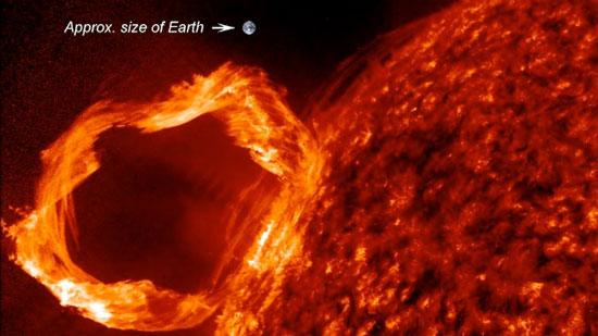Chùm lửa Mặt Trời lớn nhất trong gần 5 năm qua