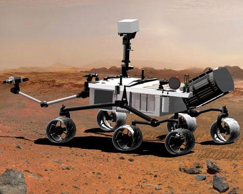 Tàu thăm dò sao Hỏa đã đến miệng núi lửa Endeavour