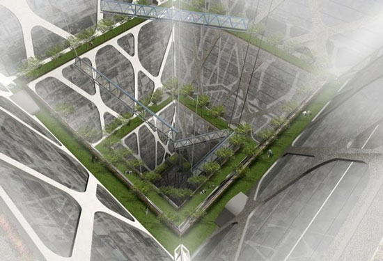 Mô hình xây dựng thành phố ngầm