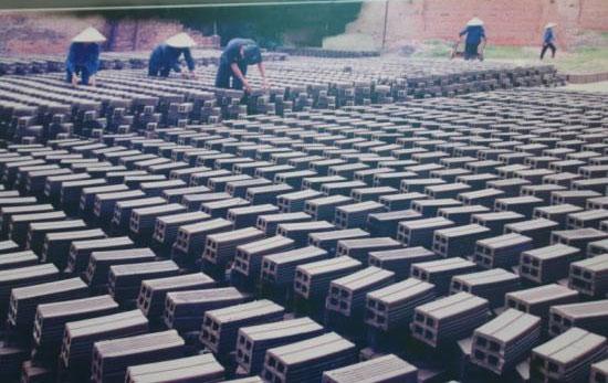Sử dụng công nghệ lò Hoffman khắc phục ô nhiễm