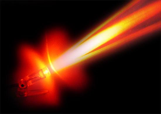 Tiếp năng lượng cho máy bay bằng tia laser