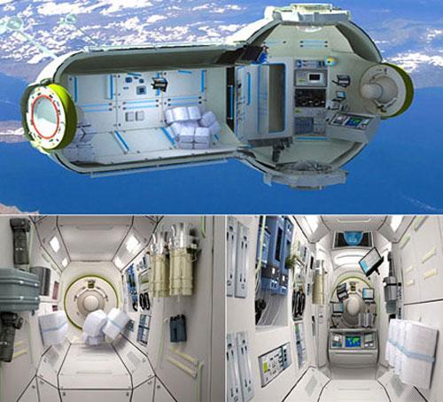 Nga xây khách sạn đầu tiên trên vũ trụ