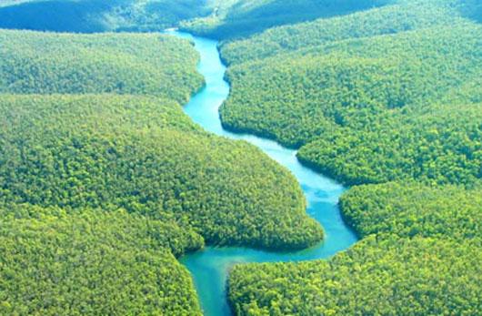 """Phát hiện sông ngầm bên dưới """"lá phổi trái đất"""""""