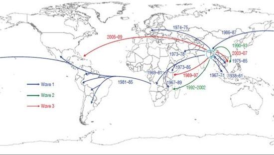 Tìm ra nơi xuất phát bệnh tả của toàn thế giới