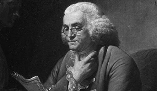 Benjamin Franklin khám phá ra điện