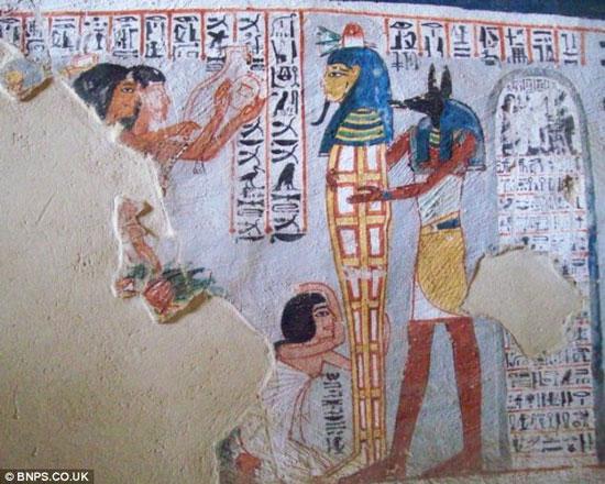 Người Ai Cập biết dùng gel vuốt tóc từ 3500 năm trước
