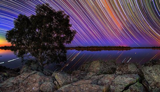 Để liên tục ghi lại hình ảnh các con đường mòn được tạo ra bởi Trái Đất khi nó quay và tạo ra cảm giác dường như các vì sao trên bầu trời cũng chuyển động theo.