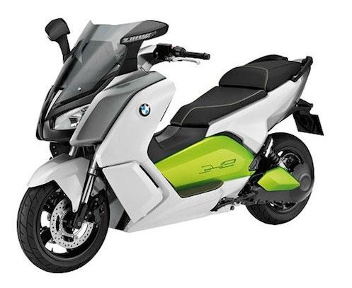 Mẫu scooter chạy điện mới của BMW