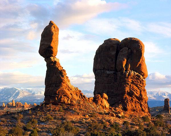 Tảng đá đặc biệt tại sa mạc Moab