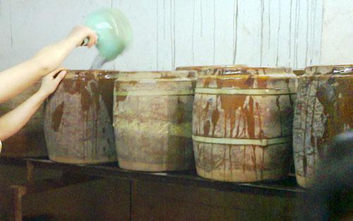 Quy trình pha hóa chất, ngâm và ủ giá
