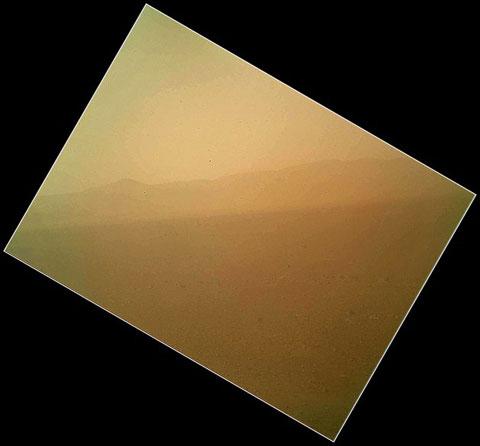 Ảnh màu đầu tiên từ sao Hỏa