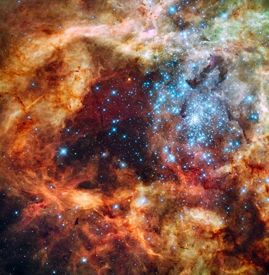 Phát hiện ngôi sao lớn gấp 300 lần mặt trời