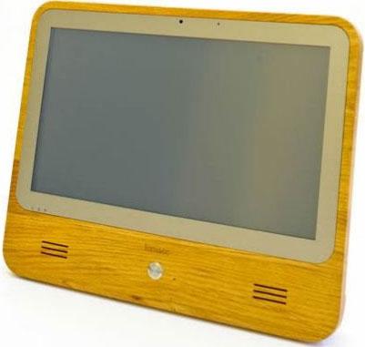 Máy tính bảng làm từ gỗ