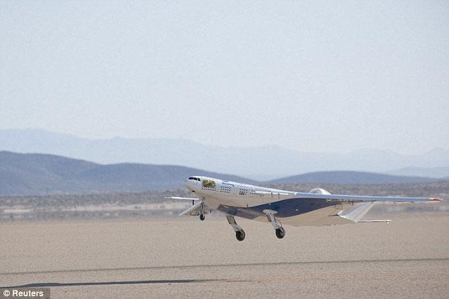 Mỹ thử nghiệm máy bay thế hệ mới
