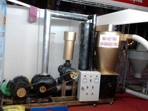 Chế tạo máy hút lúa bằng phương pháp khí động học