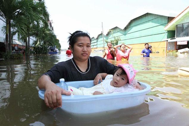 Các đô thị châu Á liên tiếp gánh thảm họa