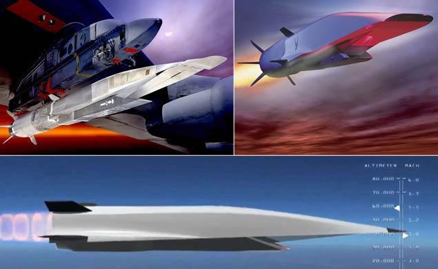 Thử nghiệm máy bay siêu thanh của Mỹ đã thất bại