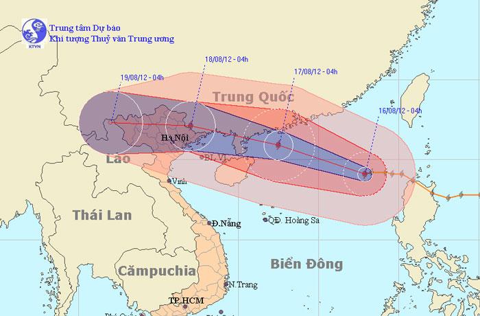 Cần chủ động ứng phó với bão Kai-Tak