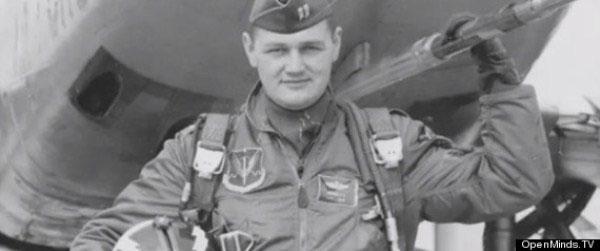 Ông Richard French khi còn phục vụ không quân Mỹ.