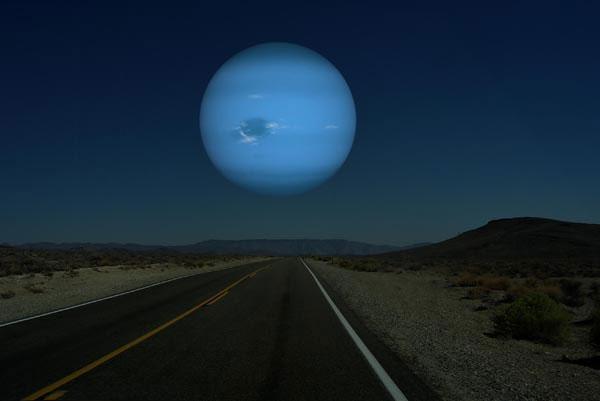 Neptune - Sao Hải Vương.