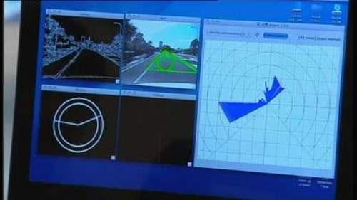 Ứng dụng iPhone điều khiển xe hơi tự động