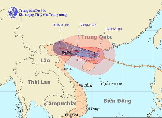 Chiều tối nay bão ảnh hưởng trực tiếp đến Quảng Ninh - Hải Phòng
