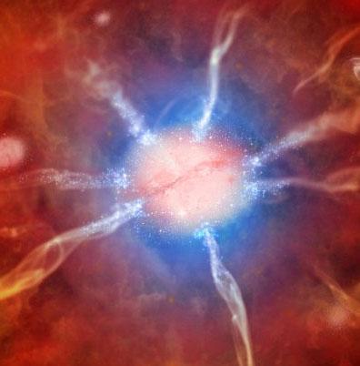 """Phát hiện thiên hà """"đẻ"""" 740 ngôi sao mỗi năm"""