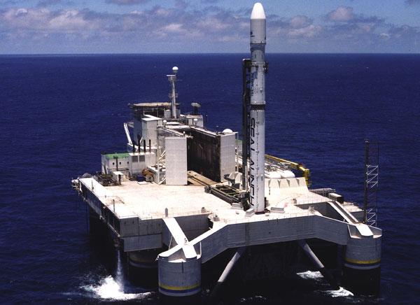 Nga phóng thành công vệ tinh Mỹ từ bệ phóng nổi