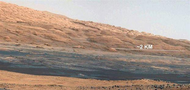 """Sao Hỏa """"nóng"""" hơn 0°C"""