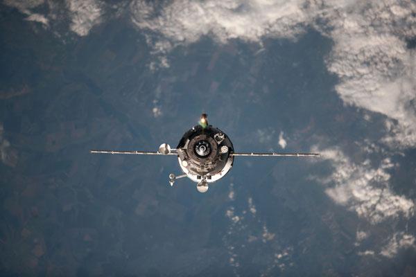 """Tàu vũ trụ Nga """"yên nghỉ"""" ở Thái Bình Dương"""